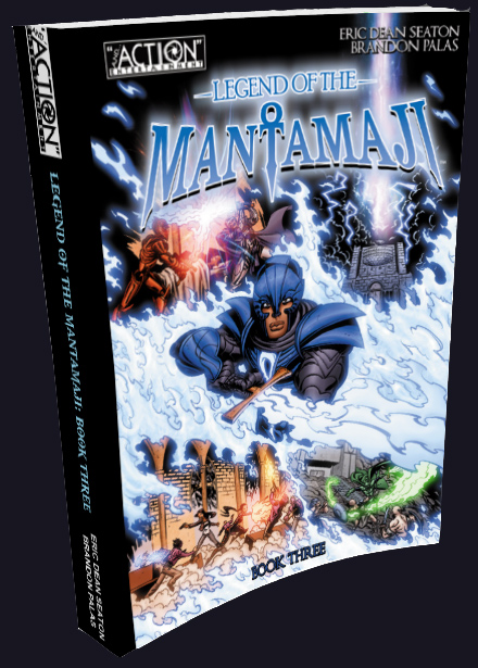 Legend of the Mantamaji Book  Three image