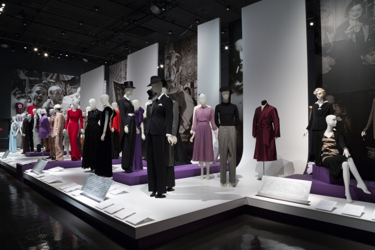 Installation view of A Queer History of Fashion: From the Closet to the Catwalk. Photograph © The Museum at FIT, New York.